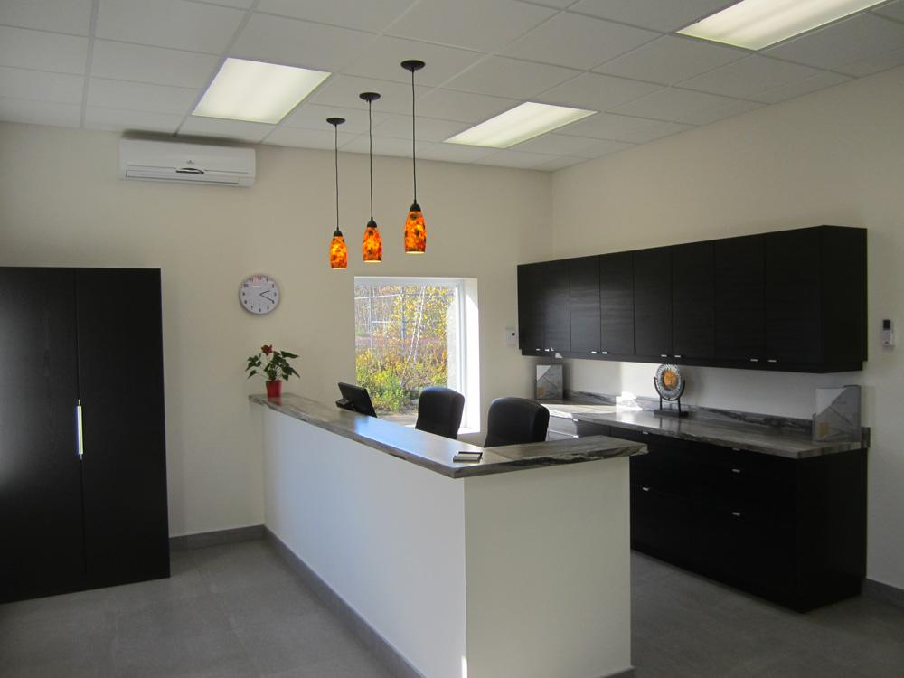 Aménagement d\'un espace bureau de 1200 pieds carré - Bâtiments haut ...
